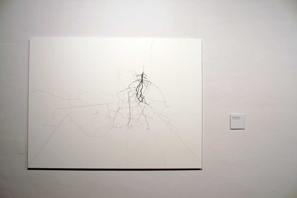 Daniel Belasco Rogers All Journeys in Berlin 2004 Akademie Installation Photo: Timo Ohler