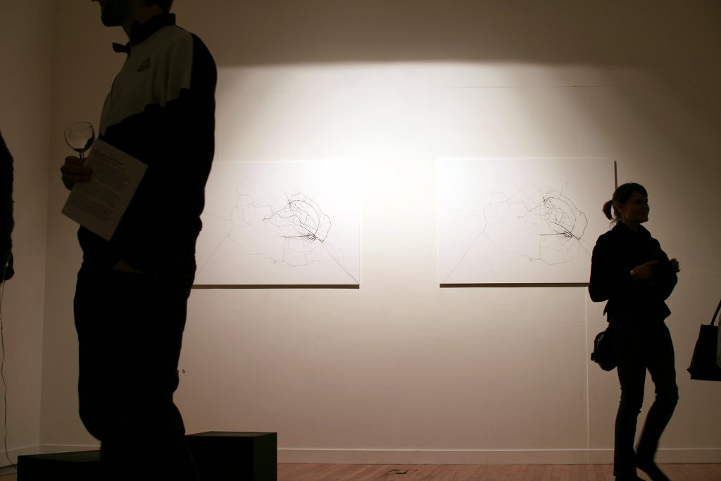 Recoded Exhibition Installation Shot Peacock Arts 2008